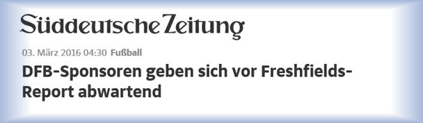 Download Artikel Sueddeutsche - DFB-Sponsoren - Maerz 2016
