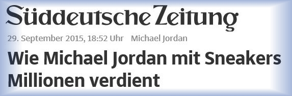 Download Artikel Süddeutsche - Michael Jordan - September 2015